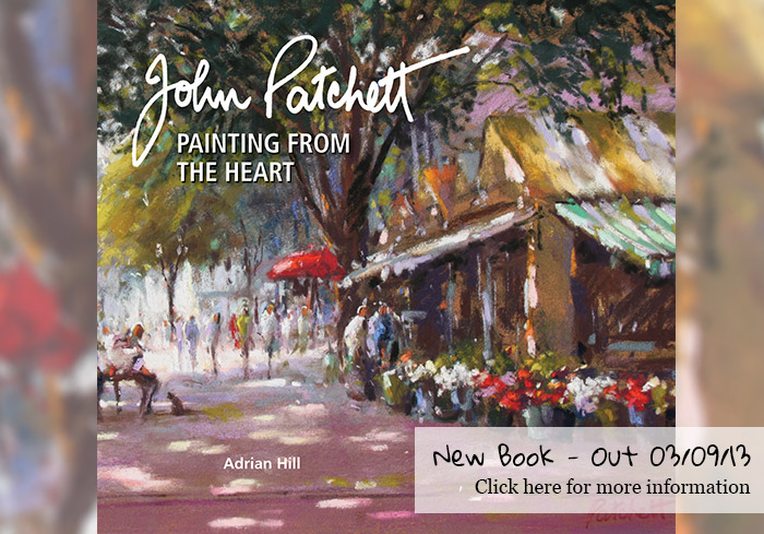 New book - John Patchett - Painting from the heart
