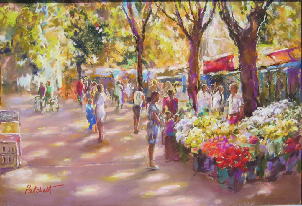 Sun-drenched Market
