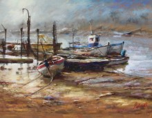 Boats in the Morning Light