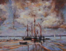 Thames Barges, Pin Mill